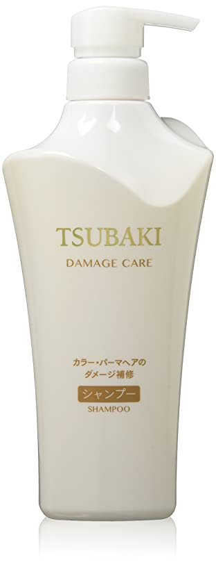 しつけプレーヤーTSUBAKI(ツバキ) ダメージケア シャンプー (カラーダメージ髪用) ジャンボサイズ 500mL