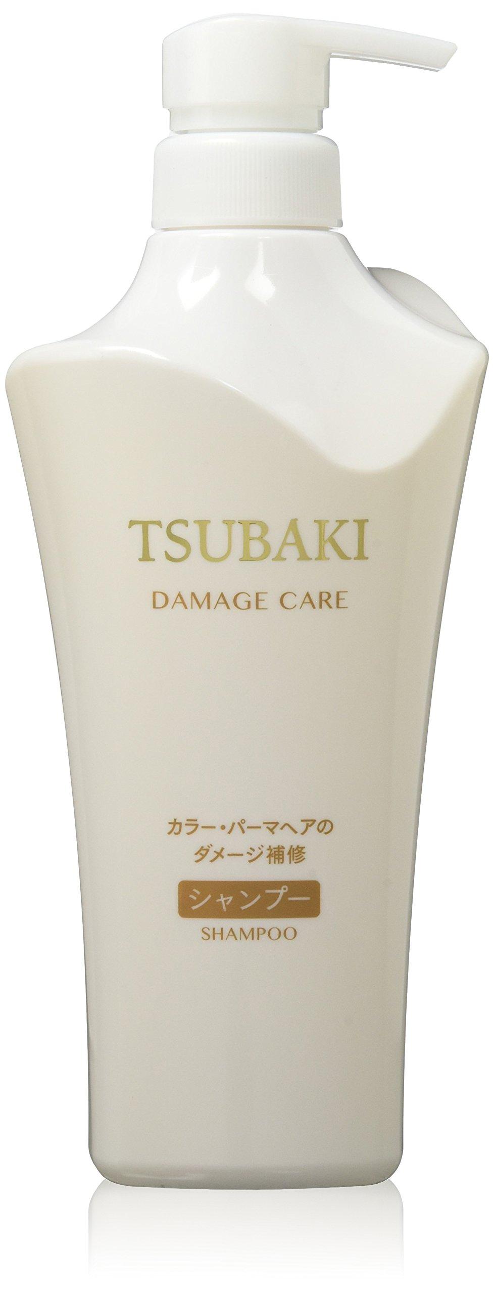 TSUBAKI Shiseido Damage Care Shampoo