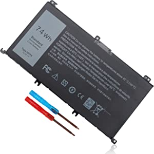 74Wh Type 357F9 71JF4 Battery for Dell Inspiron 15 7000 Gaming 7559 7567 7557 7566 7759 5576 5577 i7559 i7557 i5577 P57F 15-7559 P65F P65F001 P57F003 INS15PD Laptop, 071jf4 0gfj6 0357F9 Replacement
