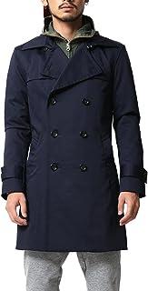 (アビト) トレンチコート メンズ ロングコート ショップコート 日本製