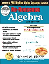 No-Nonsense Algebra, 2nd Edition: Part of the Mastering Essential Math Skills Series PDF