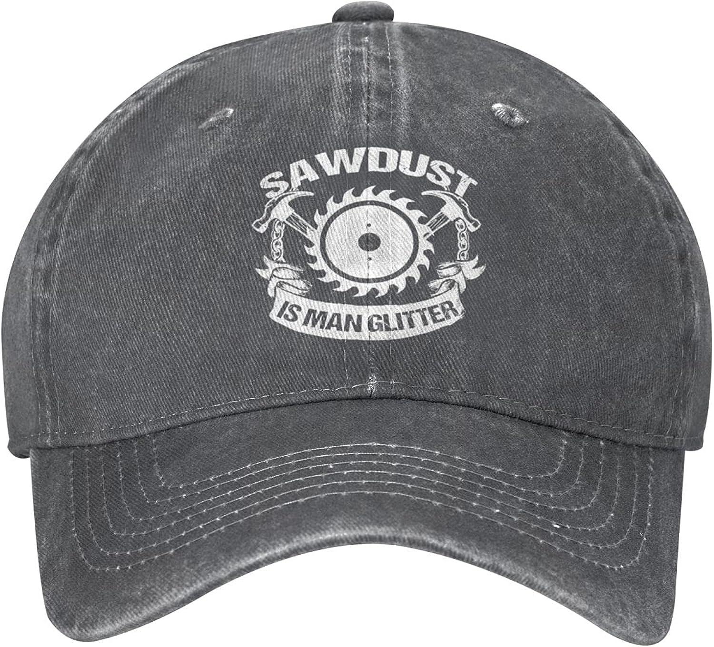 Unisex Adjustable Baseball Cap, Vintage Washed Distressed Cotton Dad Hat, Breathable Snapback Denim Hats