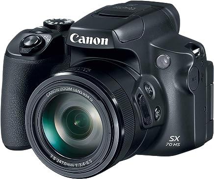 Canon Powershot SX70 20.3MP - Cámara digital con lente de zoom óptico 65x 4K (pantalla LCD de 3 pulgadas, inclinable), color negro
