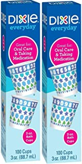 Dixie Bath Cups - 3 oz - 200 ct (2 Packs of 100 Count)