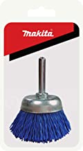 Makita 1 Piece – 2 Inch Nylon Cup Brush For Drills – Ultra Fine Conditioning..