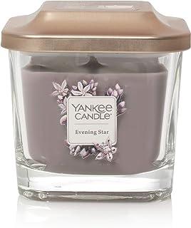 YANKEE CANDLE Hayride Lot de Bougies Chauffe-Plat en Verre Violet 19 cm