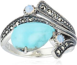 [ROKUZAN] ROKUZAN 银色 绿松石 戒指