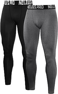 Neleus Men's Compression Pants Running Tights Sport Leggings