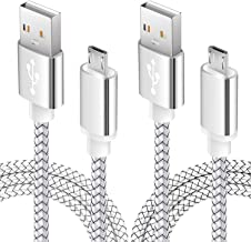 Micro USB Android Phone Charger Cable 6FT 2Pack Fast Charging Cord for Kindle fire 7..