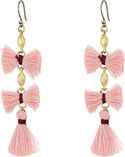 Lucky Brand Fringe Drop Earrings