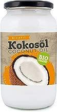 Bio4Fit Aceite de coco, nativo en cristal, 1 litro