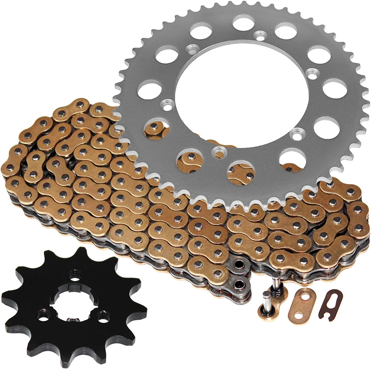 Caltric compatible SEAL limited product with Max 77% OFF Gold O-Ring Chain Sprockets Drive Ki and