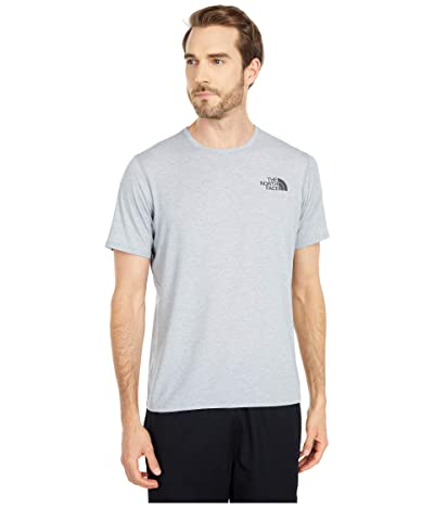 The North Face Kickaround Short Sleeve (Mid Grey Heather) Men