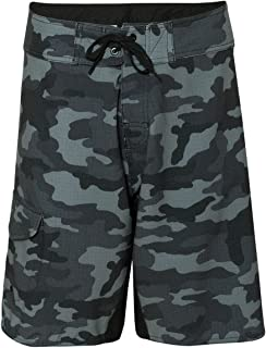 Burnside Mens Camo-Diamond Dobby Board Shorts-B9371