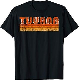 Vintage Retro Tijuana Mexico T-Shirt