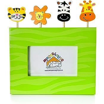 Mousehouse Gifts Jungle Safari enfants animaux Cadre photo
