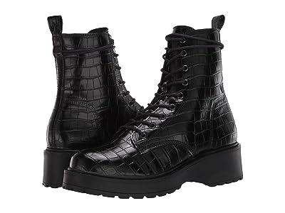 Steve Madden Tornado Boot (Black Croco) Women