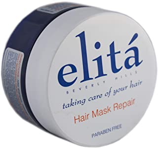 (Official) elita Beverly Hills 8oz HAIR MASK REPAIR: | All Natural | Paraben Free | Sulfate Free | Color Safe | Made in USA by elita Beverly Hills elitahair