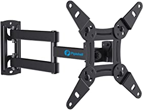 Full Motion TV Monitor Wall Mount Bracket Articulating Arms Swivels Tilts Extension Rotation for Most 13-42 Inch LED LCD F...