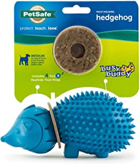 PetSafe Busy Buddy Treat Ring Holding Animal Chew Toy for Dogs, Available in Small and Medium Sizes