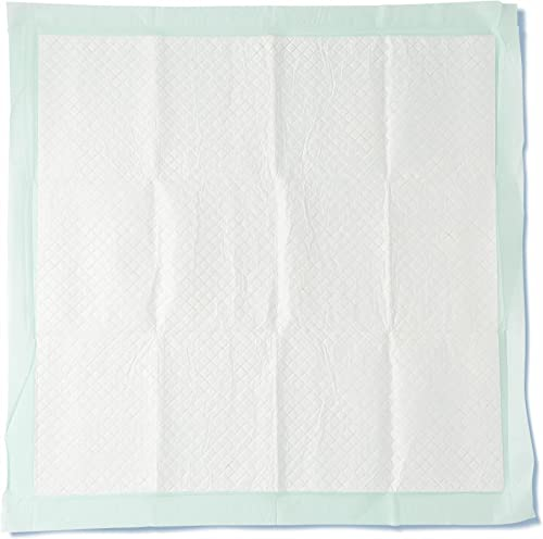 """Medline Heavy Absorbency Underpads, 36"""" x 36"""" Quilted Fluff and Polymer Disposable Underpad, 50 Per Case, Great Prote..."""