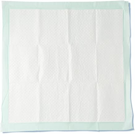 """Medline Heavy Absorbency 36"""" x 36"""" Quilted Fluff and Polymer Disposable Underpads, 50 Per Case, Great Protection for Beds, Furniture, Surfaces"""