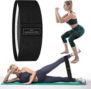 Portzon Resistance Loop Exercise Bands for Home Fitness Stretching Strength Training