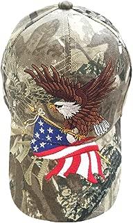 Patriotic American Flag Design Baseball Cap USA 3D Embroidery