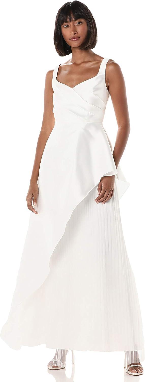 Adrianna Papell Women's Mikado Long Dress