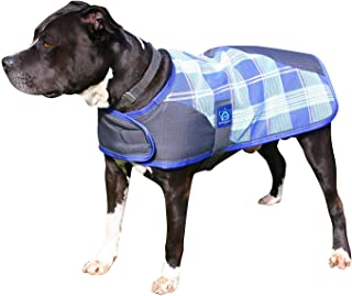 Kensington Signature Plaid 1200 Denier Dog Coat Turnout Blanket, 3X-Large, Lavender Mint Plaid