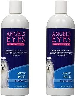 Angel's Eyes Whitening Pet Shampoo, 16-Ounce, Arctic Blue