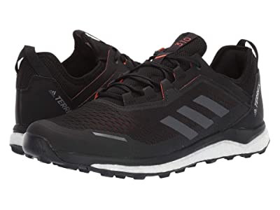 adidas Outdoor Terrex Agravic Flow (Black/Grey Six/Solar Orange) Men