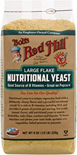 Bob's Red Mill Gluten Free Large Flake Nutritional Yeast, 8 Oz (4 Pack)