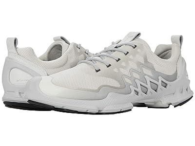 ECCO Sport BIOM AEX Trainer (White/Buffed Silver) Men