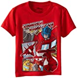 Transformers Boys 4-7 Tee, Red, 7