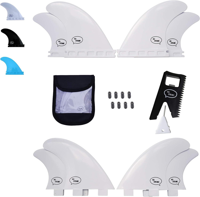 Ho Stevie Fiberglass Reinforced Popular popular Polymer - Fins Beauty products Quad Surfboard