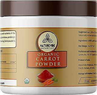 Best activz carrot powder Reviews