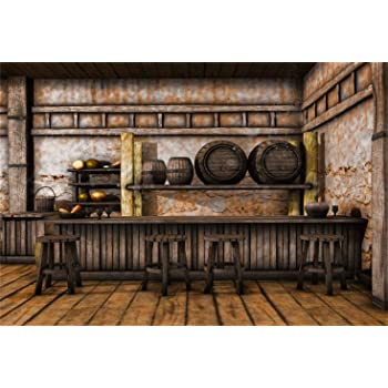 Yeele Pub Photography Backdrop Modern Bar Interior at Night Background 10x10ft Kids Adult Artistic Portrait Banner Room Decoration Photo Booth Photoshoot Studio Props Wallpaper