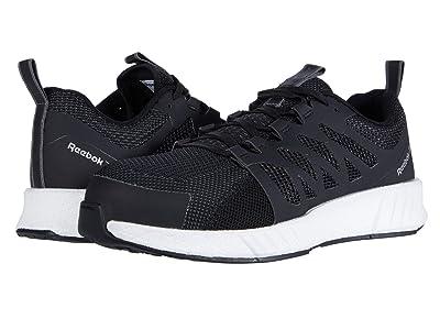 Reebok Work Fusion Flexweave Cage Composite Toe (Black/White) Men