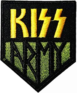 Music K Army Alternative Rock Band Music Logo Patch Embroidered Sew Iron On Patches Badge Bags Hat Jeans Shoes T-Shirt Applique