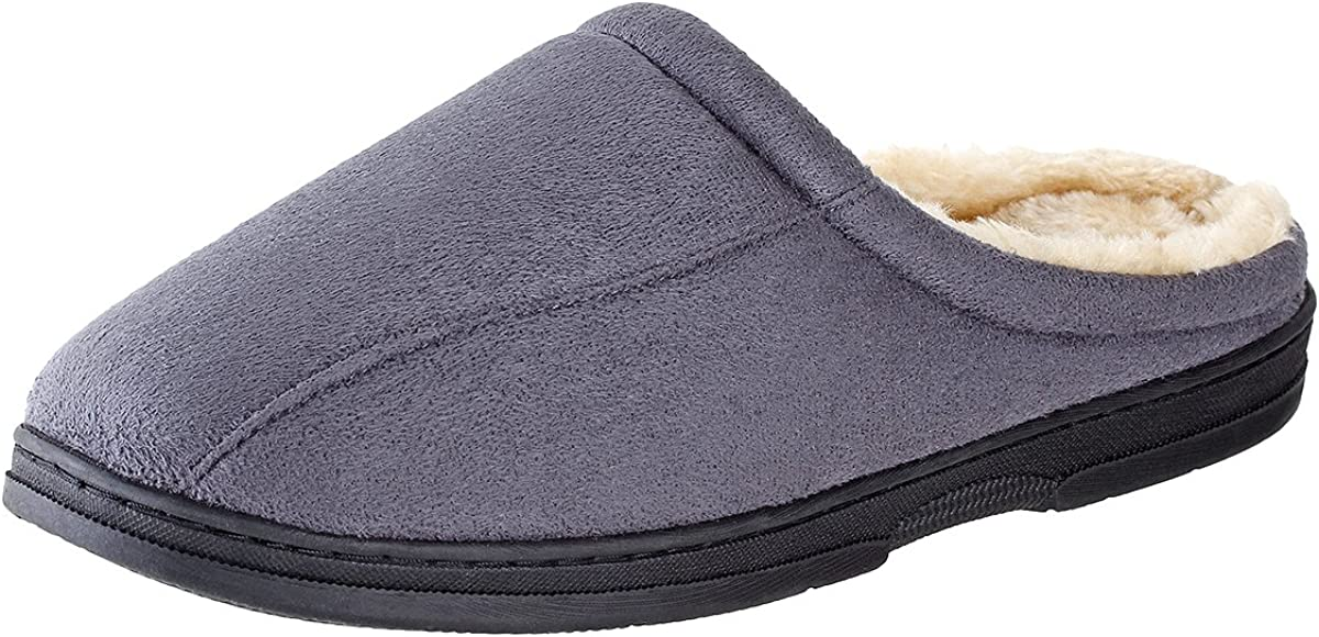 Urban Time sale Fox Mason Suede Mens Raleigh Mall Rubber-Sole Slippers Micro-Suede I