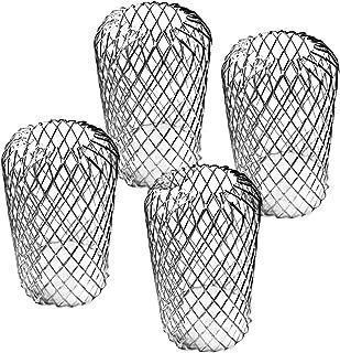 4-pack aluminium takränna skydd expanderbar ränna filter skärmskydd, metall ränna skydd blad filter skydd skydd skydd skyd...