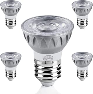 6 Pack Satco S9389 6.5PAR16//LED//40//5000K//120V LED Light Bulbs