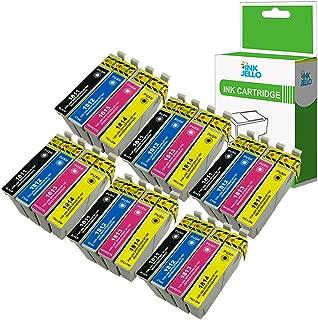Fimpex Compatibile Inchiostro Cartuccia Sostituzione Per Epson XP-102 XP-202 XP-205 XP-212 XP-215 XP-225 XP-30 XP-302 XP-305 XP-312 XP-315 XP-322 XP-325 XP-402 XP-405 XP-405WH 18XL BK//C//M//Y, 14-Pack