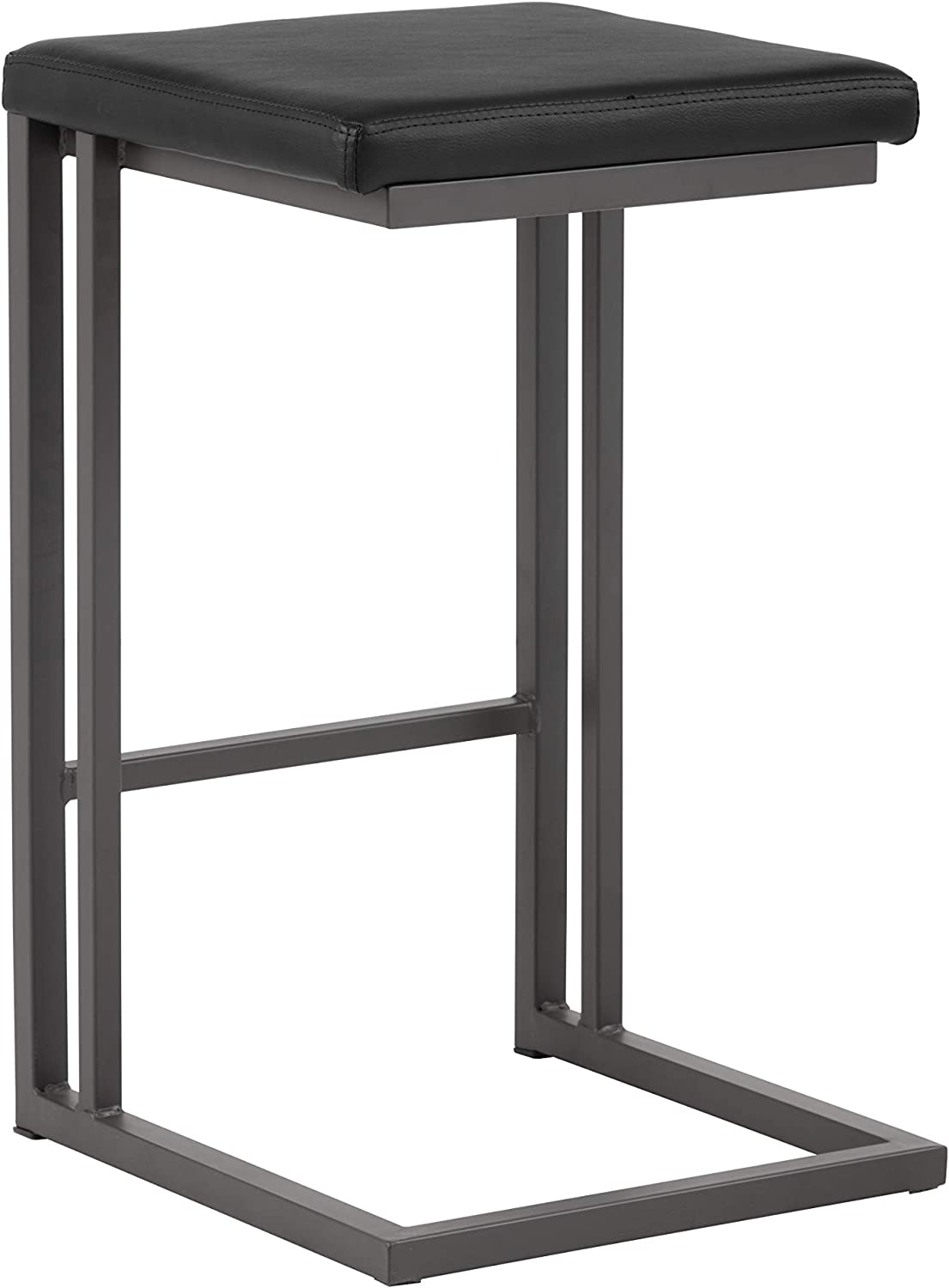 Sunpan Modern 102498 Boone Counter Stool, Onyx