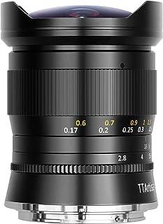 TTArtisan 11mm F2.8 Full Frame Ultra-Wide Fisheye Manual Lens for Nikon Z-Mount Nikon Z6, Z7, Z50 Mirrorless Camera