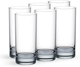 Ocean San Marino Hi Ball Glass, Pack of 6, Clear, 290ml, B00410