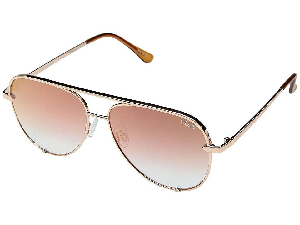 QUAY AUSTRALIA High Key Mini QUAY X DESI (Rose/Copper Fade) Fashion Sunglasses