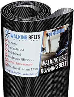WALKINGBELTS Walking Belts LLC - NTL129050 NT C2300 Treadmill Walking Belt 1ply + Free 1oz Lube