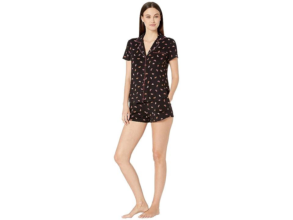 Kate Spade New York Modal Jersey Short Pajama Set (Ditsy Watermelon) Women